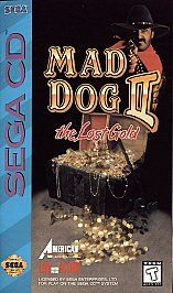 Mad Dog McCree II Sega CD, 1994