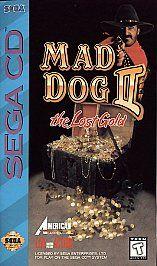 Mad Dog McCree II Sega CD, 1994