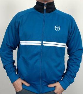 Sergio Tacchini 80s McEnroe Dallas Tracksuit Top Royal Blue M,L,XL