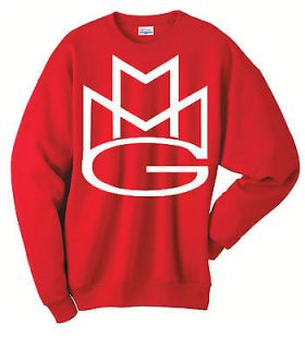 MMG MAYBACH MUSIC swag miami rick ross wale dj crew neck MENS