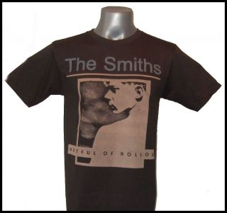 The Smiths Morrissey Hatful of Hollow Grey Tee T Shirts T Shirt Size S