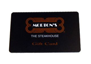 Mortons Gift Card