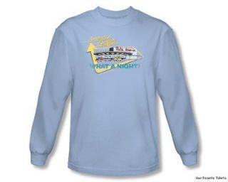 Graffiti Mels Drive In Officially Licensed Long Sleeve Shirt S 2XL