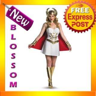 C329 She Ra MOTU He Man Master Of The Universe Fancy Halloween Ladies