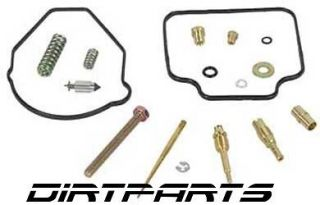 complete carburetor rebuild kit suzuki ltf250 ozark 250 one day