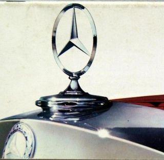 MERCEDES BENZ AUTOMOBILE ADVERTISING SALES BROCHURE GUIDE 1960S