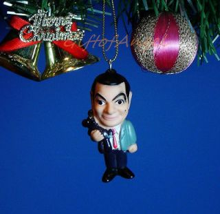 Ornament Home Party Christmas Mr Bean Teddy Bear Rowan Atkinson *E20