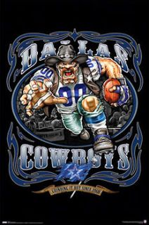 Dallas Cowboys GRINDING IT OUT SINCE 1960 NFL Football Poster