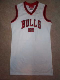 60) REEBOK Chicago Bulls STITCHED/SEWN nba Jersey Dress YOUTH (GIRLS