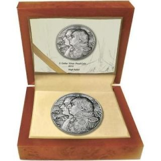 2012 5$ War of 1812 Kutusow   Napoleon High Relief 2Oz Silver Coin