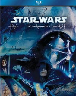 Star Wars Trilogy Episodes IV VI (Blu ray Disc, 2011, 3 Disc Set