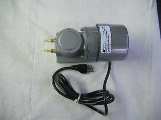 ELECTRIC VACUUM / PRESSURE DIAPHRAGM PUMP FOR GAS & AIR 21psi / 21in