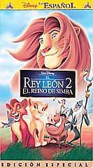 The Lion King 2 Simbas Pride   Special Edition VHS, 2004, Limited