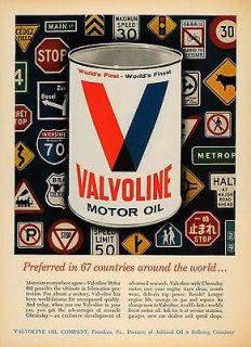 Valvoline Motor Oil Msds On Popscreen