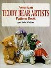 Teddy Bear Artist Pattern Book by Linda Mullins 1998, Hardcover
