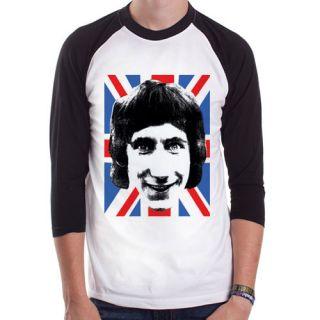 The Who Pete Townshend mod band UK rock Baseball t shirt 3/4 sleeve