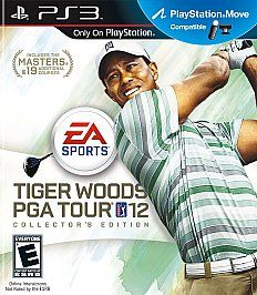Tiger Woods PGA Tour 12 The Masters Collectors Edition Sony