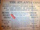 SHERMAN TEXAS TX RIOT Negro Lynching 1930 Old Newspaper