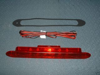11 5 truck camper shell truck cap led 3rd brake