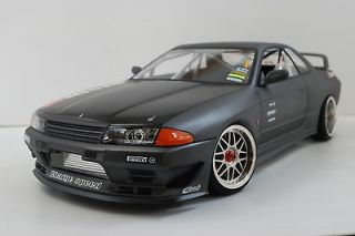 NISSAN SKYLINE R32 CUSTOM PAINTED BODY SHELL 1/10 TAMIYA TT01 YOKOMO