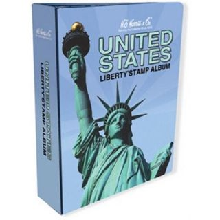 HE Harris USA LIBERTY 1 STAMP ALBUM Part A 1847 1994 ILLUSTRATED NEW