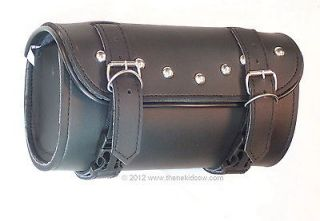 Premium TOOL BAG Motorcycle Leather bag 3 LAYER STURDY Quick Release