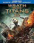 Wrath of the Titans (Blu ray/DVD, 2012, 2 Disc Set, Includes Digital