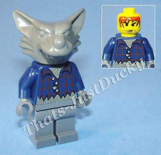Lego minifig WEREWOLF 1380 Studios Werewolf Ambush Wolfman Figure