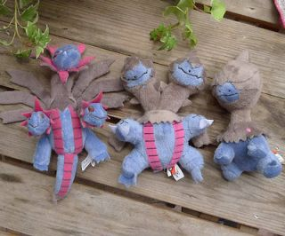 Deino Hydreigon Zweilous Plush Doll Toy Collectible Goods RARE