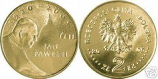 poland pope john paul ii 2005 2 zloty nordic gold coin  3
