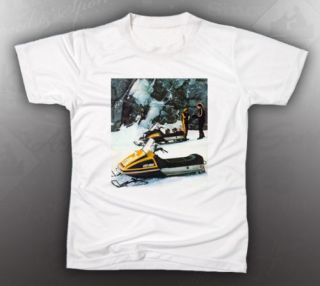vintage ski doo 1977 tnt everest tee shirt like nos