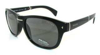 Authentic PRADA Folding Black Sunglasses 13O 13OS   1AB0A9 *NEW*