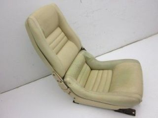 Original Passengers Side RH Clam Shell Bucket Seat Assembly 1979 1982