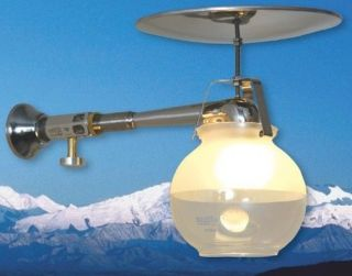 Propane Gas Lamp Model 450 Brightest indoor gas light Made in the