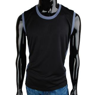 Mens Coolon fabric Fast Drying Gym Fitness Sleeveless Tank Top(TP_004