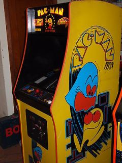 Pac man Galaga Ms Pacman video arcade game free play or coin operated