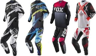 Fox Kids Boys & Girls Pee Wee Pants & Jersey Motorbike MX Motocross