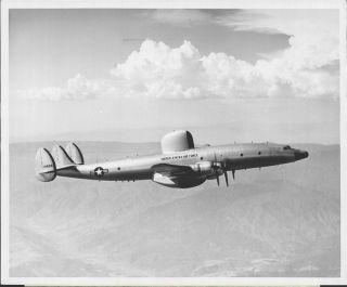 1953 United States Air Force RC 121C Radar Plane Sharks Fin Press