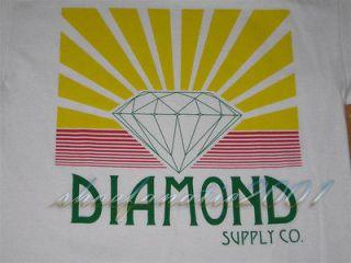 Diamond Supply Co Shining Tee Shirt OG Script Large L Un Polo Wiz