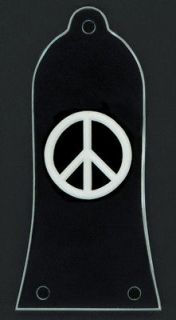 Guitar Parts Custom Engraved Truss Rod Cover Fits EPIPHONE   PEACE
