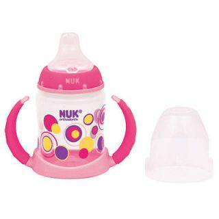 Nuk TrendLine™ Dots Orthodontic Learner Cup, BPA Free, 6M+ Learn to