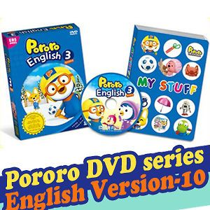 Little Penguin, PORORO DVD Series English Version 10 (DVD + Play Book