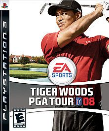 Tiger Woods PGA Tour 08 Sony Playstation 3, 2007
