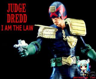 comic movie judge dredd 1 6 figure vinyl model kit