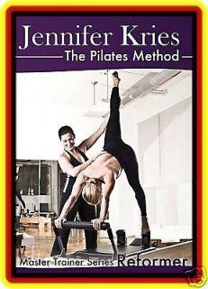 jennifer kries master trainer dvd pilates reformer  35 95