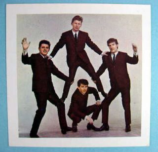 the searchers u k 1964 original mister softee card time