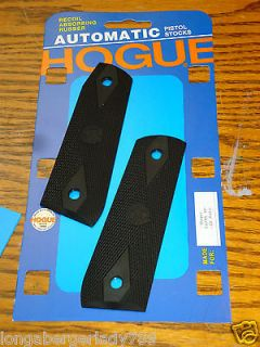 HOGUE RUBBER DIAMOND GRIPS GRIP PANELS RUGER 22/45 Mark III 22CAL