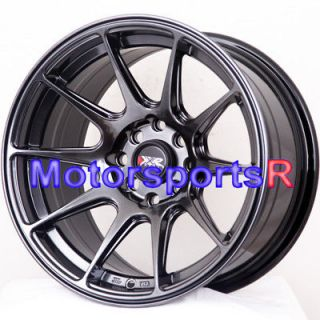 XXR 527 Chromium Black Concave Wheels Rims Stance 4x100 4x114.3 ET +0