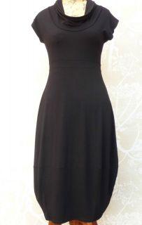 The Masai Clothing Company Black Orania Jersey Dress Current Season