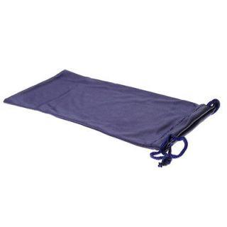 high quality microfiber sunglass soft drawstring pouch